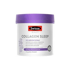 【澳洲直邮】Swisse斯维诗 晚安胶原蛋白肽粉 240g/瓶【升级加量大瓶装】