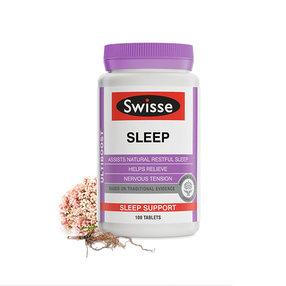 【3件减70元】【澳洲直邮】Swisse斯维诗  睡眠片 100片(到手周期15-20个工作日)