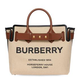 【香港直邮】Burberry 巴宝莉 金铜色拼色女士手提包挎包 8014808