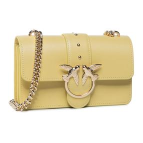 【香港直邮】Pinko 品高 女士黄色燕子链条包 1P21R4-Y5FFH44