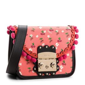 【香港直邮】Furla 芙拉 女士多彩粉色皮革单肩包斜挎包 942055