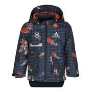 阿迪达斯Adidas 大童 活套冲锋衣 FM9745