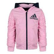 阿迪达斯Adidas 儿童 活套冲锋衣 DY9236