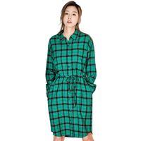 【預售】UGIZ 格子連衣裙 UASB102GE