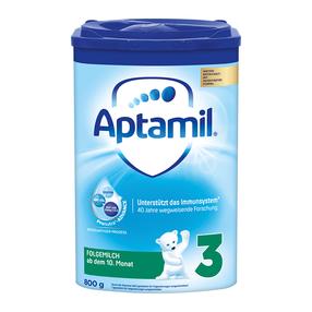 欧洲直邮德国爱他美/Aptamil婴幼儿配方奶粉3段800g/罐