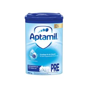 欧洲直邮德国爱他美/Aptamil婴幼儿配方奶粉pre段800g/罐