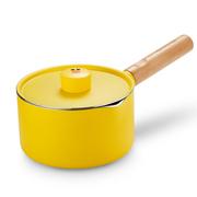 九阳 Joyoung 汤奶锅16cm宝宝辅食锅不粘锅煮泡面锅汤锅元气莎莉鸡小奶锅 TLL1622D-A2(黄色,棕色随机)
