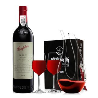 奔富RWT红酒 Penfolds澳洲澳大利亚原瓶原装进口 干红葡萄酒 750ML*1 单支装