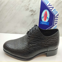 沙馳男鞋春夏新品系帶男士商務正裝皮鞋英倫尖頭海豹皮