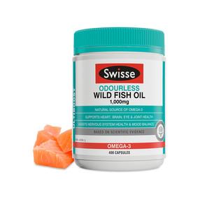 Swisse无腥味野生鱼油1000mg 400粒