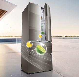 卡萨帝冰箱BCD-465WDCHU1风冷(自动除霜)帛拉帝【钛金】