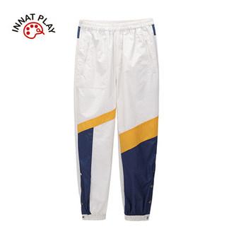 tanni2020年INNATPLAY新款男女同款运动风束脚裤PJ12PA012A