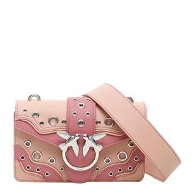 【香港直邮】Pinko 品高 女士粉色燕子单肩包 1P21NT-Y66BP9H