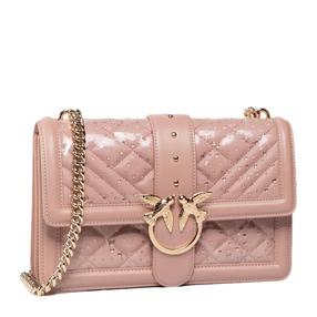 【香港直邮】Pinko 品高 女士粉色燕子单肩包 1P21N3-Y66DQ19