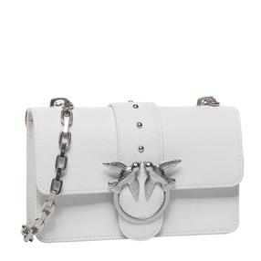【香港直邮】Pinko 品高 女士白色燕子单肩包 1P21M0-Y65ZI09