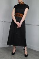新款香云纱连衣裙