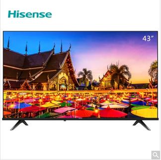 海信(hisense) 43A3F 43英寸 2K 智能 黑 电视