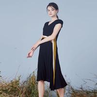 高詩婕(gvssjee) 歐洲進口精紡面料 X型 連衣裙 192163002-61