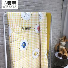 花果果YHW系列 小清新格子夏被 全棉包边设计