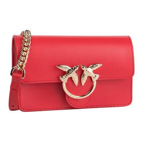 【香港直邮】Pinko 品高 女士红色燕子链条包 1P21KR-Y5FFR24