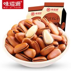 味滋源开口松子120g*2袋装松果零食原味松子手剥孕妇坚果小包装Wjgsz3201-01