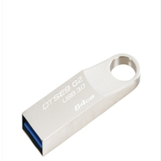 金士顿金士顿U盘64GB USB3.0 DTSE9G2 银色金属外壳(696022)【限中建三局采购,其他订单不发货】