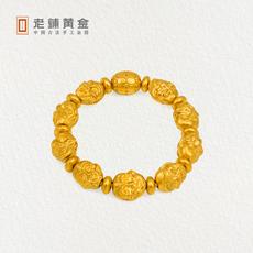 老铺黄金十八罗汉手珠黄金佛珠