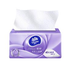 维达维达纸面巾V2833A,100抽3层棉韧抽取式,1*12