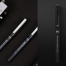 晨光(M&G)黑色全针管水笔0.38mm 速干直液式(695915)【限中建三局采购,其他订单不发货】