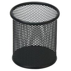 晨光(M&G)黑色金属网格圆形笔筒单个装ABT98404(695906)【限中建三局采购,其他订单不发货】