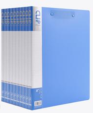 晨光(M&G)A4蓝色双强力夹A4蓝色10个装ADMN4025(695897)