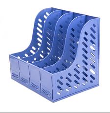 晨光(M&G)蓝色四联办公文件框单个装4740(695923)