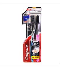 高露洁纤柔备长炭牙刷两支装1*2(454019)