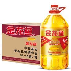 金龙鱼黄金比例调和油5L(515096)