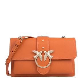 【香港直邮】Pinko 品高 橘色女士单肩包 1P21M2-Y65ZA76