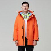 波司登 男撞色工装风休闲潮流冬季保暖外套羽绒服(2色)B00143221【仅 限自提】