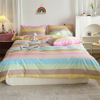 VIPLIFE全棉小清新四件套 纯 棉床单/床笠款床上用品套件【小清新系列】