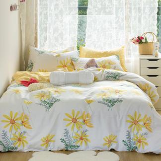 VIPLIFE新品全棉四件套 清新花卉**四件套床品套件【清新花卉系列】