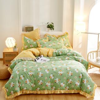 VIPLIFE精梳全棉四件套  纯 棉花边床上用品套件床单款/床笠款【全棉花边四件套系列】