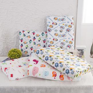 【儿童亲肤款】VIPLIFE儿童乳胶枕头 全棉面料防螨虫家用乳胶枕芯护颈椎儿童枕