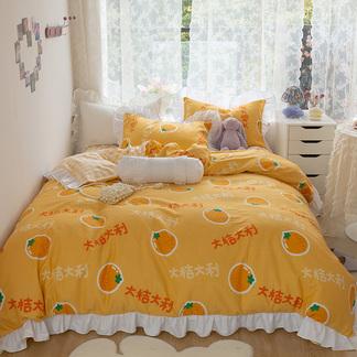 VIPLIFE韩版ins公主风床上四件套 春夏全棉数码印花少女心被套床单【公主风系列】