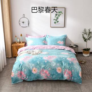 VIPLIFE精梳全棉四件套 纯 棉单双人床品套件床单被套【清新系列】