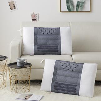 VIPLIFE新款枕芯 全棉决明子磁石按摩枕头