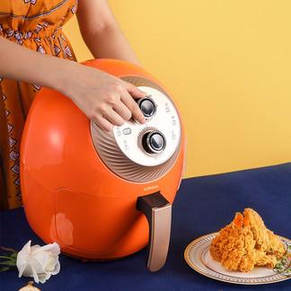 KONKA康佳 空气炸锅 3.5L KGKZ-AS3 橙色