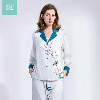 【专柜同款】女式国风长袖长裤套装家居服9201602411