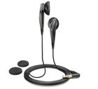 森海塞尔(Sennheiser)MX375 高清解析平头塞 立体声有线通话手机耳机耳塞 强劲低音 黑色