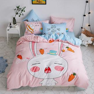 VIPLIFE全棉卡通四件套 纯 棉床单被套床品套件【卡通系列】