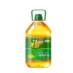 福临门一级菜籽油5L