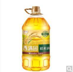 香满园稻米油4L
