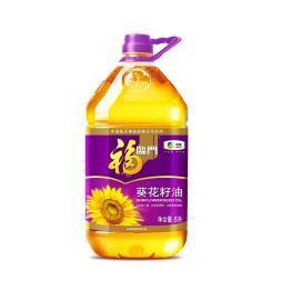 福临门葵花籽油5L